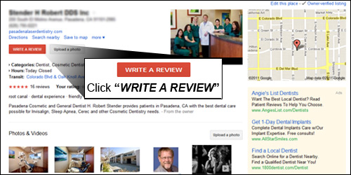 Review us on Google Rating